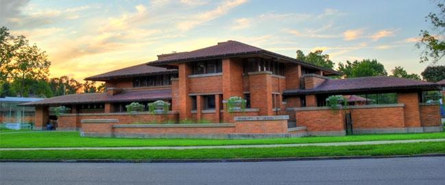 The Frank Lloyd Wright Darwin Martin House of Buffalo